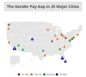The Gender Pay Gap by State: An Interactive Map: AAUW